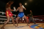 Masood  Izadi  Smashed  The  Champion Muayboran of  Mianmar .